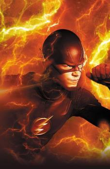 ... o Flash na TV.