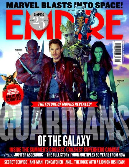 Os Guardiões da Galáxia.