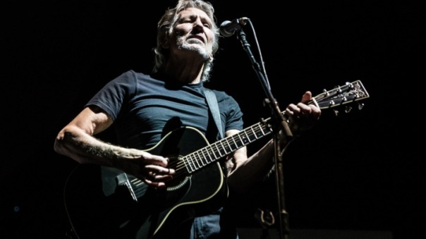 Roger Waters nos shows de The Wall.