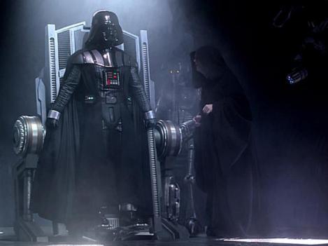 Darth Vader e o Imperador podem aparecer em flashbacks?