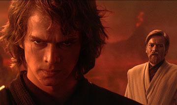 A queda de Anakin.