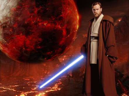 Ewan McGregor como Obi-Wan Kenobi no Episódio III.