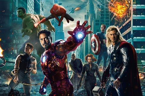 Os Vingadores e o Homem-Aranha em montagem de fãs.