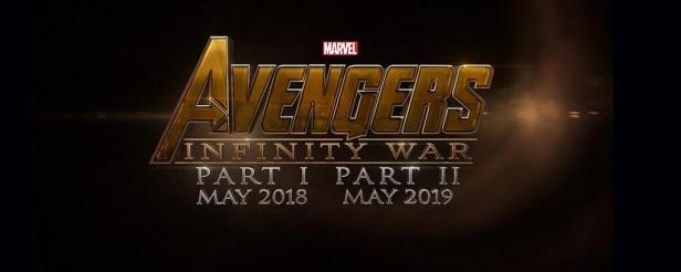 O logo de Guerra Infinita Parte 1 e 2:.