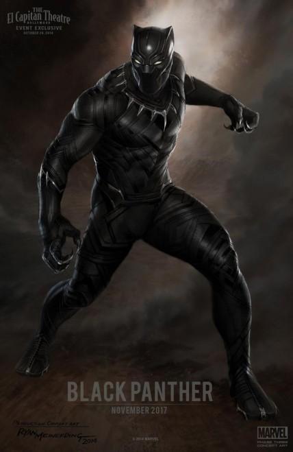 Arte conceitual com o Pantera Negra: finalmente nos cinemas.