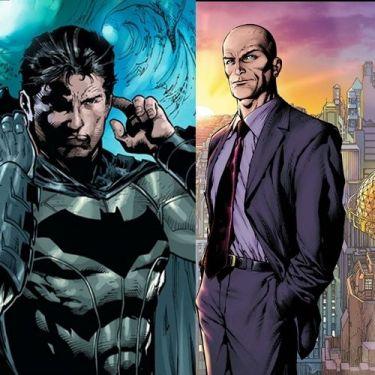 Bruce Wayne e Lex Luthor nos quadrinhos: briga?