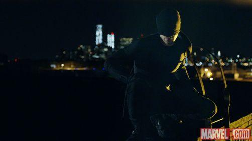 O Demolidor da TV: uniforme preto.