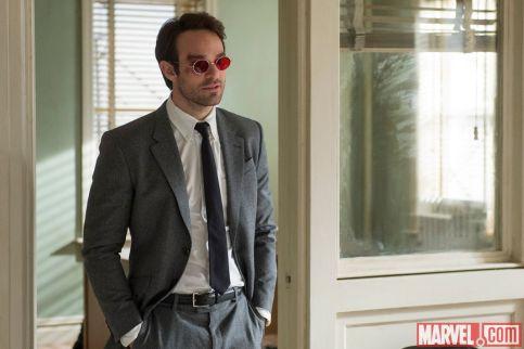 A primeira imagem oficial de Matt Murdock.