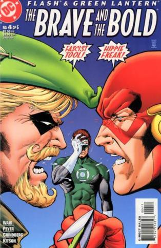 A minissérie The Brave and the Bold trouxe o Arqueiro Verde e o Flash... e o Lanterna Verde!