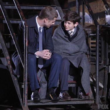 Gordon e Wayne: relação deve crescer ao longo da série.