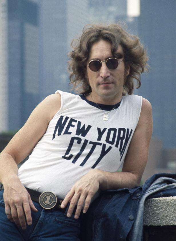john lennon 1974 iconic photo variation