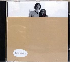 john lennon two virgins 1968 CD censored