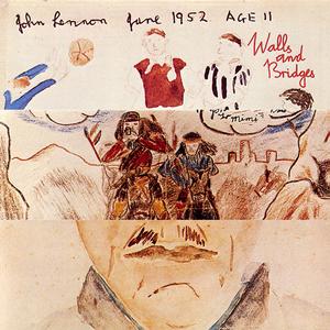 john lennon wall and bridges 1974