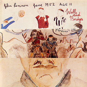 john lennon wall and bridges 1974