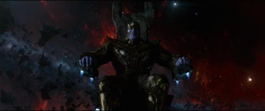 Thanos no filme Guardiões da Galáxia.