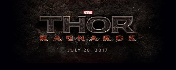 Logo oficial de Thor - Ragnarok.