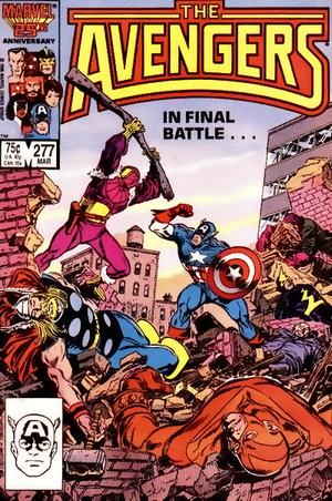 O segundo Barão Zemo contra os Vingadores.