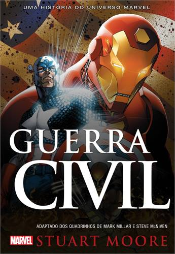 A edição nacional de Guerra Civil em romance.
