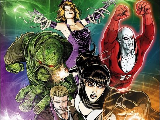 Liga da Justiça Sombria: personagens místicos.