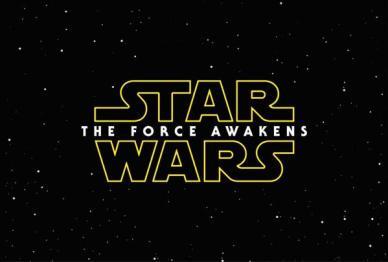 A logo e o título oficial de Star Wars - Episode VII: The Force Awakens.