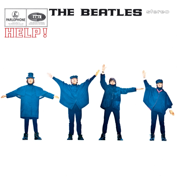 beatles help cover