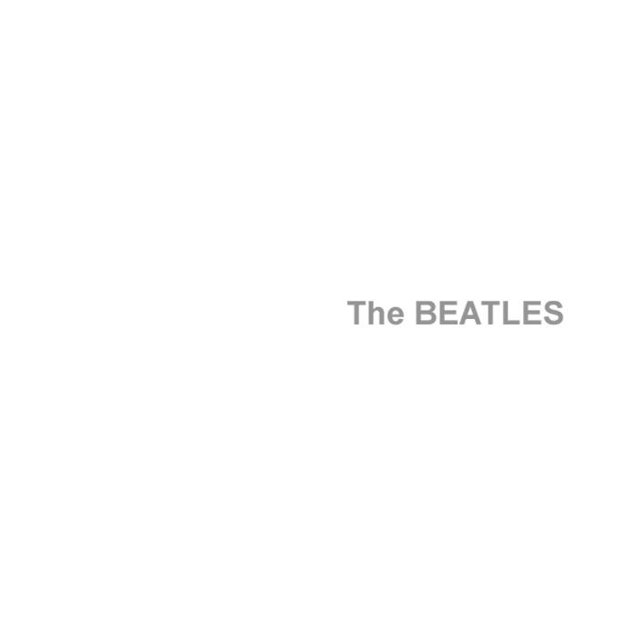 beatles The_Beatles white album cover