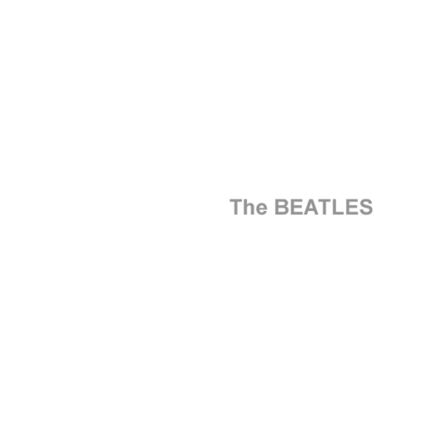 beatles The_Beatles white album cover