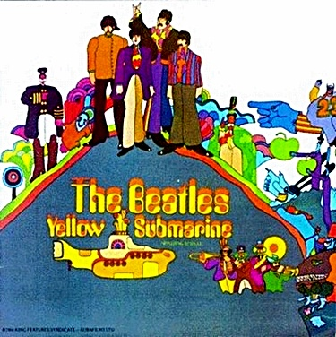 beatles-yellow submarine cover