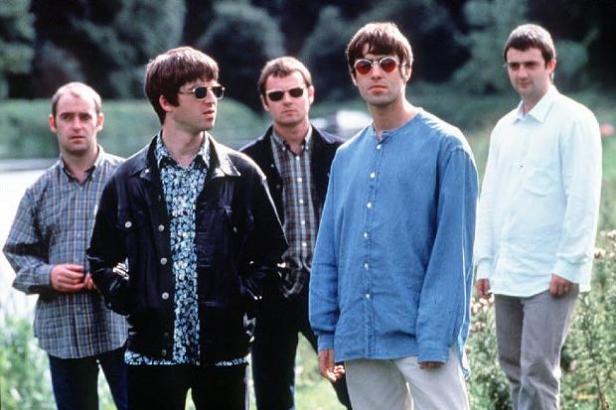 O Oasis em 1995.