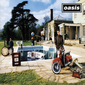 oasis BeHereNow cover
