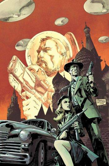 Capa de Gabriel Hardman para Operation SIN 01.
