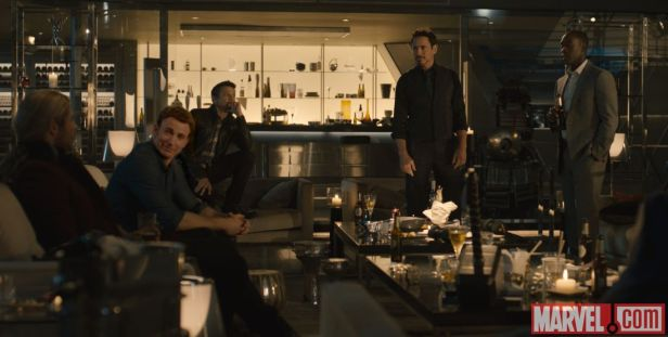 ageofultron official party scene 1