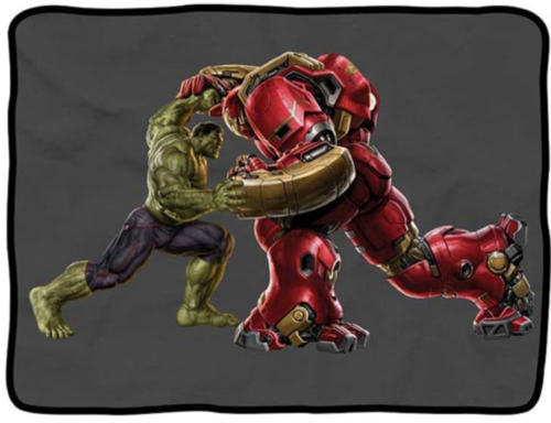 Hulk contra a Hulkbuster.