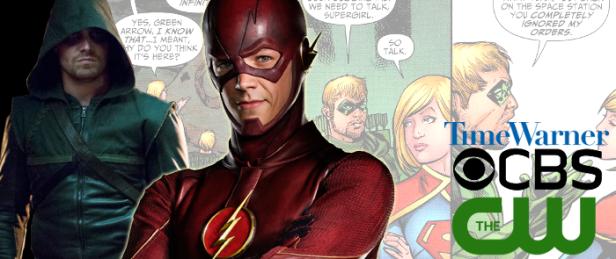 Arrow, Flash e Supergirl: em breve juntos nas telinhas.