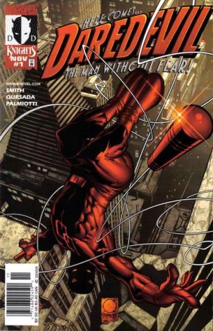 O reinício da revista Daredevil com Demônio da Guarda. Para adultos.
