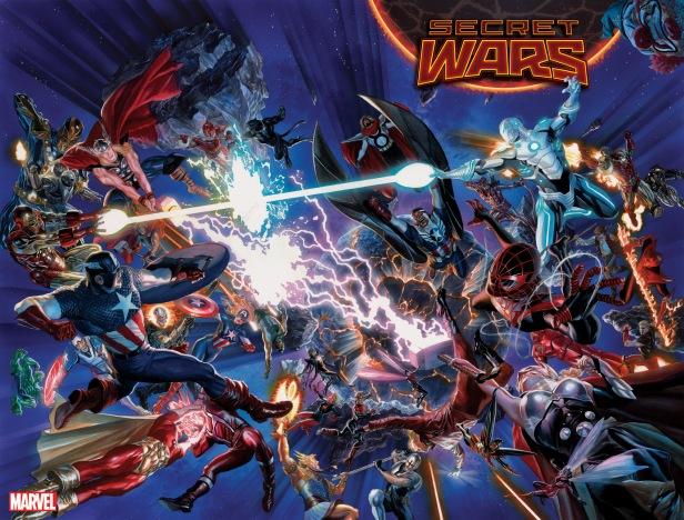 A nova Secret Wars na arte de Alex Ross: muda tudo?