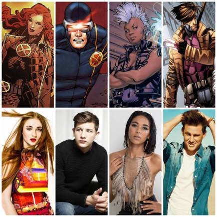 As versões jovens de Jean Grey, Ciclope e Tempestade, mais Gambit, serão as adesões em Apocalipse.
