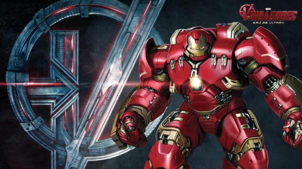 O Homem de Ferro Hulkbuster.