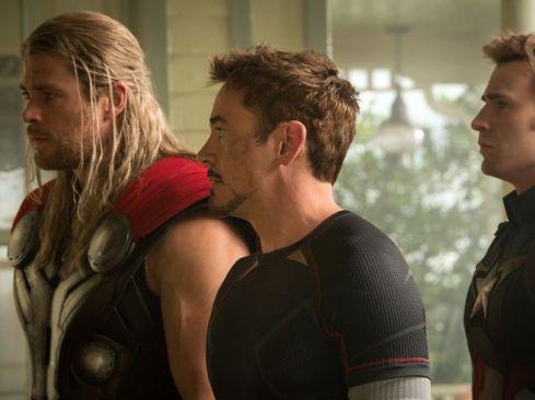 Thor, Stark e Rogers: destinos diferenciados.