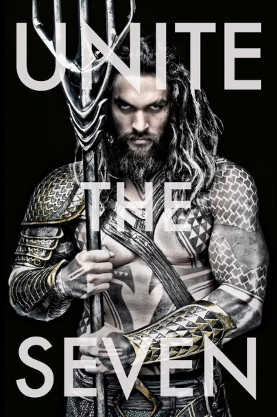 Aquaman em imagem oficial.