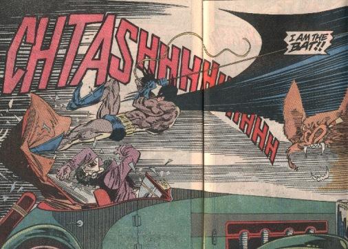 Poderoso painel de Breyfoglem em Detective Comics 617.
