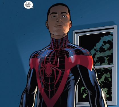 Miles Morales no Universo Ultimate.