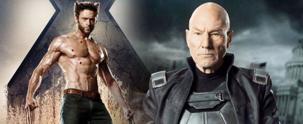 Wolverine e Professor X juntos em um filme.
