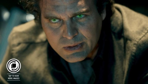Mark Ruffalo como Bruce Banner: filme de companheiros intergaláticos.