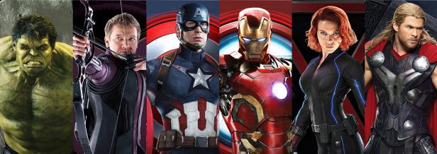 Vingadores: estreia forte no mercado internacional.