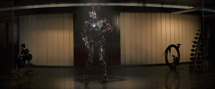 ageofultron trailer ultron first version walking