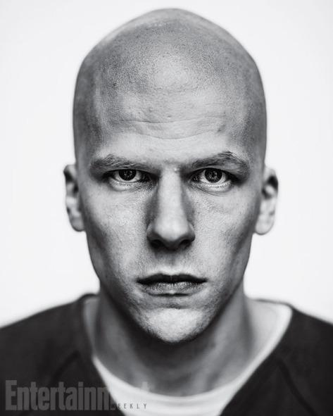 Primeira imagem oficial de Lex Luthor no filme.
