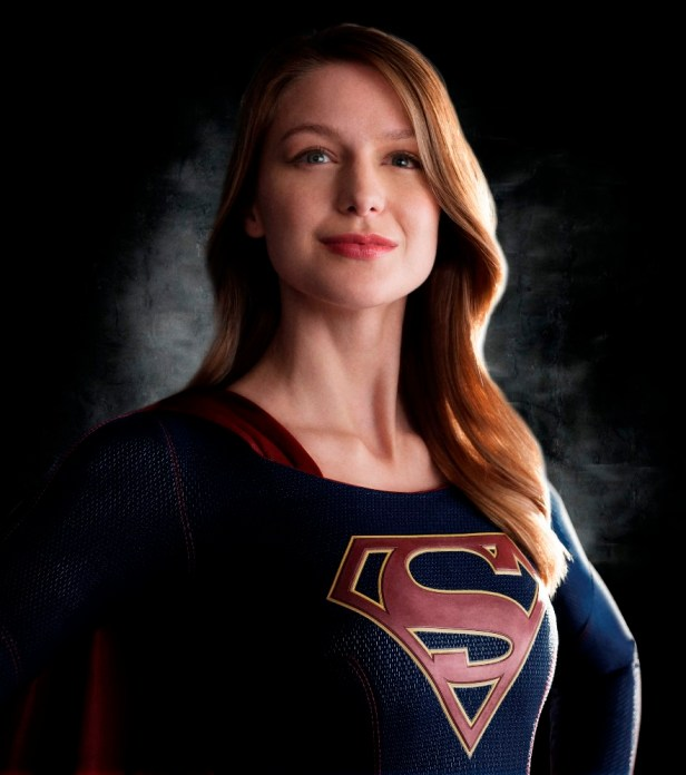 supergirl TV first official image close-up