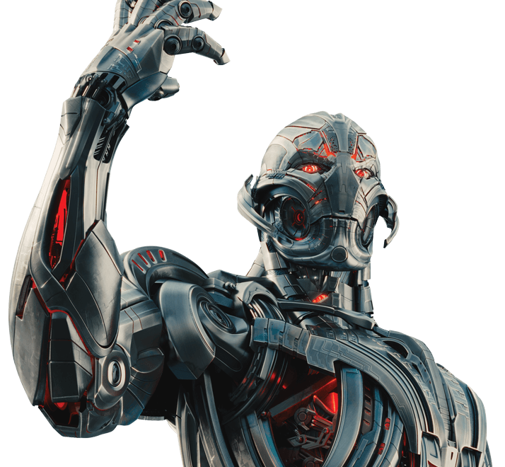 ageofultron promo art ultron closer evil eye