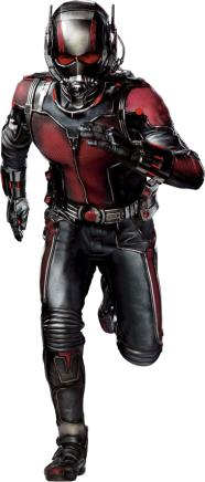 Homem-Formiga também está no filme.